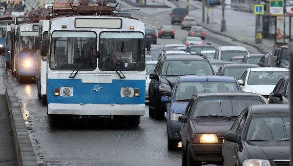Троллейбусы в Москве. Архивное фото