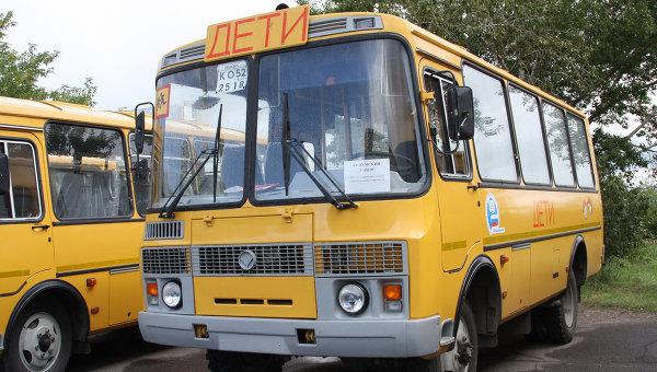 Курские школы получат новые автобусы для транспортировки детей