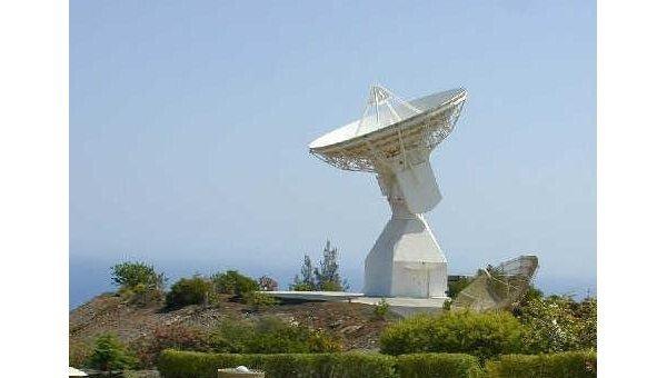 Станция слежения ЕКА на Канарских островах