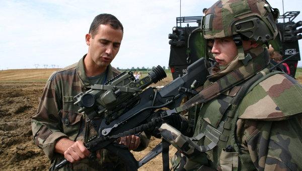 Французские солдаты будущего - комплект Felin
