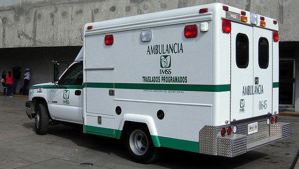 Машина скорой помощи. Мексика