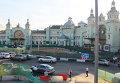 Площадь перед Белорусским вокзалом в Москве