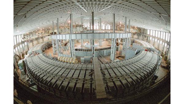 Институт ядерных исследований в городе Дубна. Синхрофазатрон