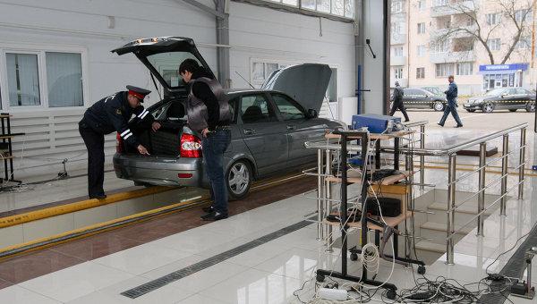 Техосмотр автомобиля в ГИБДД Чечни