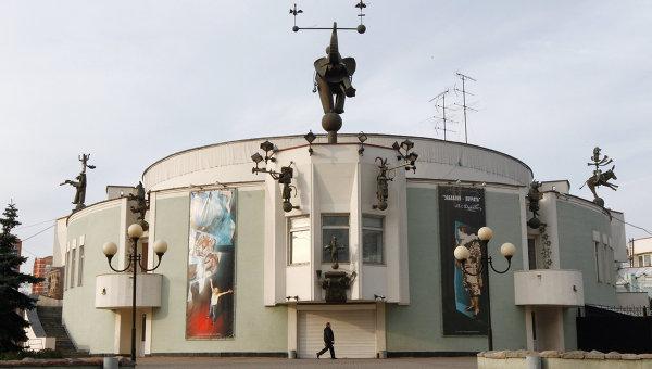 Здание Театра зверей имени В.Л.Дурова. Архив