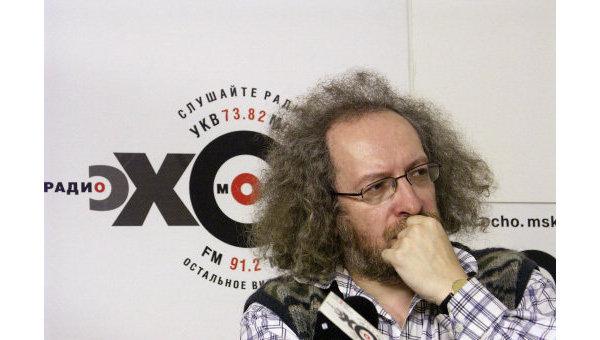 Главный редактор радиостанции Эхо Москвы Алексей Венедиктов