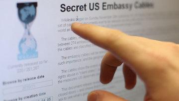 WikiLeaks. Архивное фото