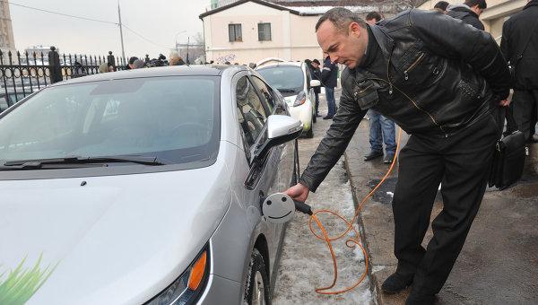 Открытие зарядных станций для электромобилей