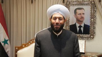Верховный муфтий Сирии шейх Ахмед Бадр-эд-Дин Хассун, архивное фото