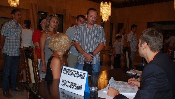 Голосование на избирательном участке в Гаване, Куба