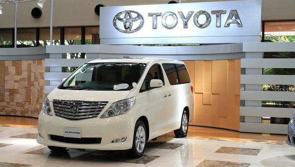 Автомобиль Toyota. Архивное фото