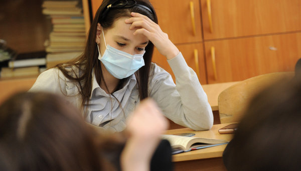 Эпидемия гриппа, архивное фото