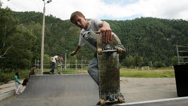 Скейтборд-парк. Архив