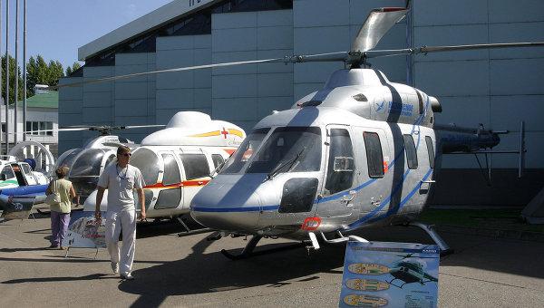 Вертолет Ансат. Архивное фото
