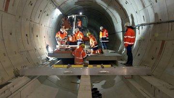 Строительство туннелей для европейского рентгеновского лазера XFEL