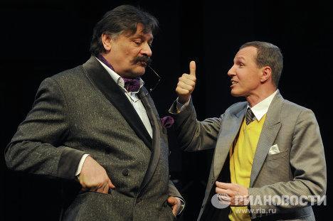 Прогон спектакля Свидетель обвинения в МХТ имени Чехова