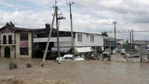Наводнение в Краснодарском крае