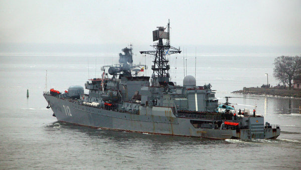 Сторожевой корабль (СКР) Балтийского флота Неустрашимый