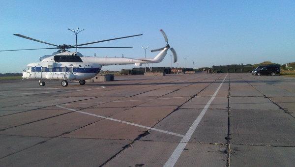 Аэродром в Крымске, архивное фото