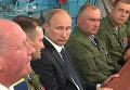 """Путин порекомендовал десантникам в День ВДВ """"вести себя достойно"""""""