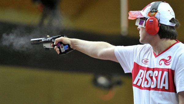 Климов идет 11-м после этапа квалификации встрельбе изпистолета наОИ