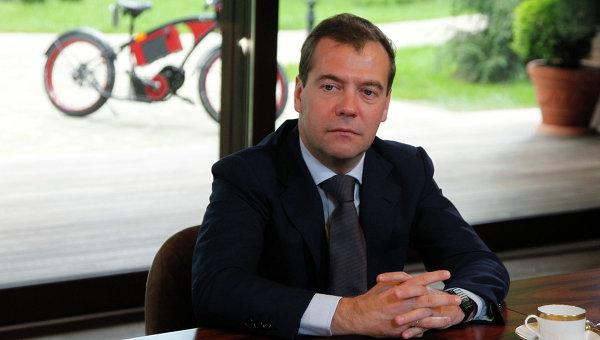 Встреча Д.Медведева с кандидатами на пост главы ЦИК Единой России