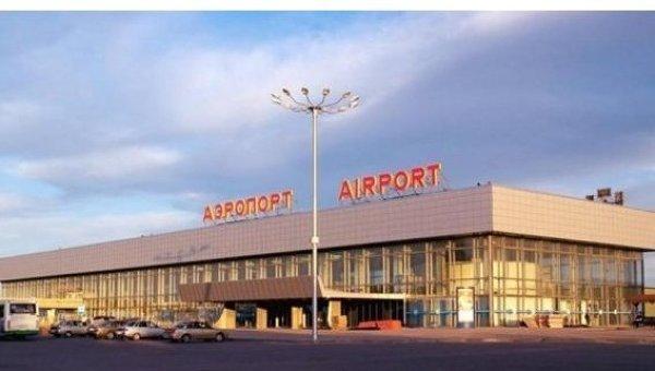 Аэропорт Гумрак, здание аэровокзала в Волгограде. Архивное фото
