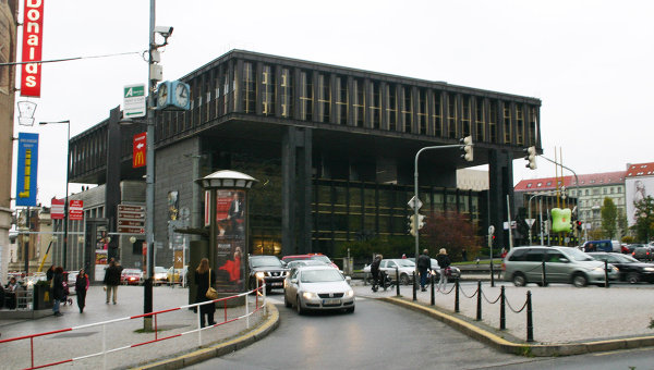 Здание бывшего федерального парламента Чехословакии. Архивное фото
