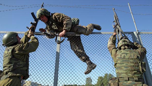 Общероссийские соревнования спецназа внутренних войск. Архивное фото
