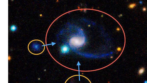 Спиральная галактика GAMA202627 и ее спутники являются почти полными двойниками нашей галактики - Млечного пути