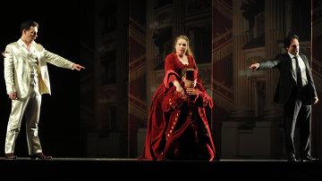 Репетиция оперы Дон Жуан театра Ла Скала. Архивное фото