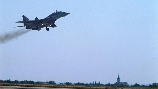 Фронтовой истребитель МиГ-29. Архивное фото