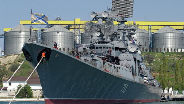 Большой противолодочный корабль Керчь Черноморского флота Российской Федерации