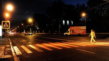 Пешеходные переходы в Москве. Архивное фото