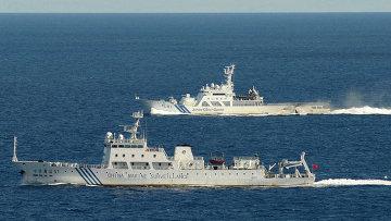 Патрульные корабли КНР, архивное фото
