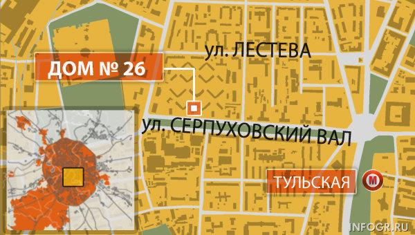 Неизвестные открыли стрельбу по прохожим на юге Москвы