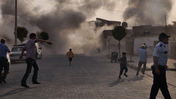 Пять человек погибли в среду в уезде Акчакале на юго-востоке Турции, после удара сирийской артиллерии