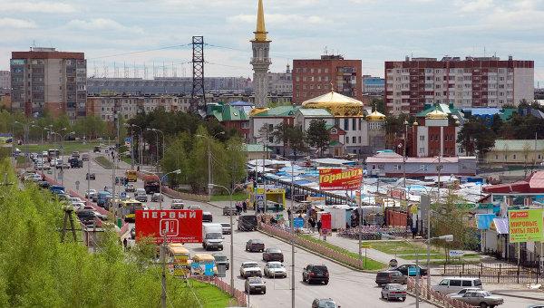 Виды города Сургут, архивное фото