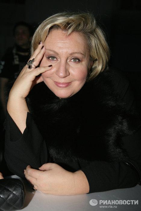 Актриса Марина Голуб на церемонии вручения международной премии в области стиля