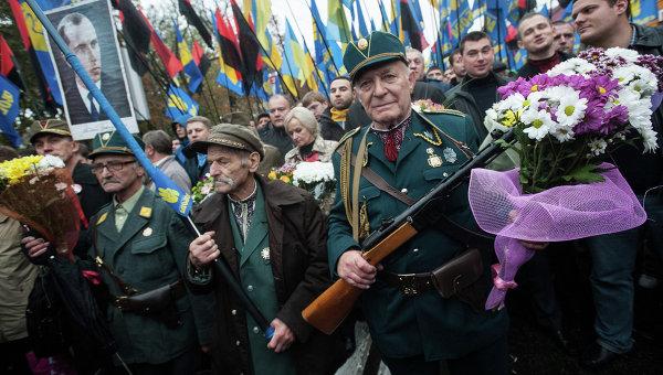 Марш по случаю 70-летия Украинской повстанческой армии