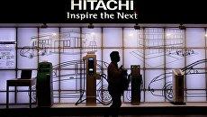 Стенд компании Hitachi на выставке CEATEC JAPAN 2012 Electronics Show