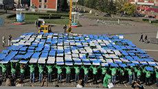 Флешмоб Олимпиада Сочи волонтеры молодежь