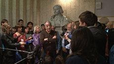 Конфликт в театре Гоголя: актеры против нового руководства