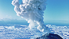 Вулкан Ключевская сопка. Архив