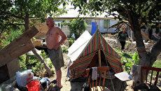 Восстановительные работы в Крымске