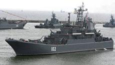 Корабли Балтийского флота. Архивное фото