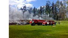 Лесной пожар. Архив