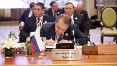Спецпредставитель президента РФ по Ближнему Востоку Михаил Богданов