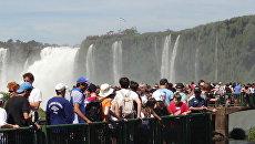 Угроза обмеления водопадов Игуасу