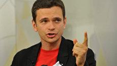 Активист движения Солидарность Илья Яшин. Архив